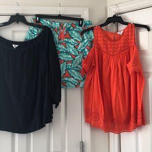 EUC Crown & Ivy Outfit Bundle